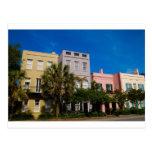 Rainbow Row Charleston, SC Postcards
