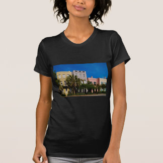 Rainbow Row Charleston, SC T-Shirt