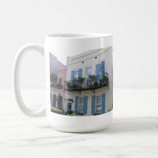 Rainbow Row Houses, Charleston SC Mug