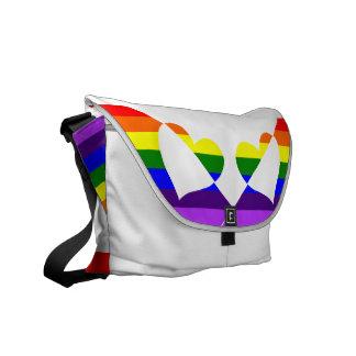 Rainbow Runner Messenger Bag