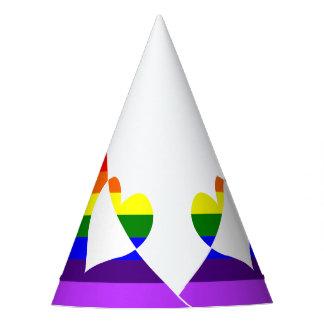 Rainbow Runner Party Hat