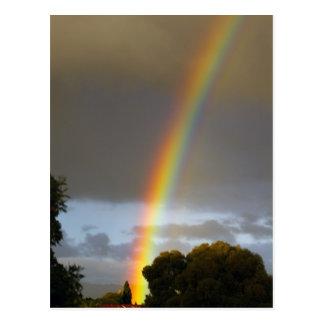 Rainbow s end postcard