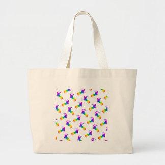 Rainbow Salamander Canvas Bag