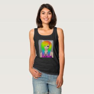Rainbow Scene Queen Women's tank top