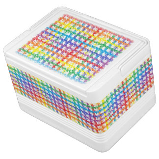 Rainbow Scratch Igloo Cooler