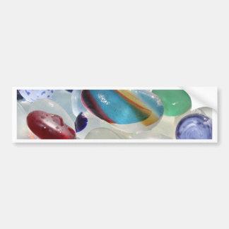Rainbow Sea Glass Bumper Sticker