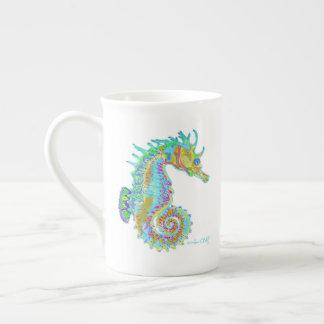 Rainbow Seahorse mug