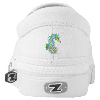 Rainbow Seahorse shoe
