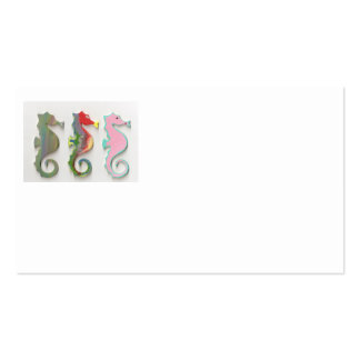 RAINBOW SEAHORSES PACK OF STANDARD BUSINESS CARDS