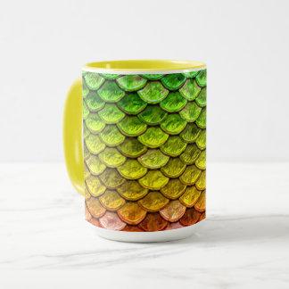 Rainbow Serpent scales Mug
