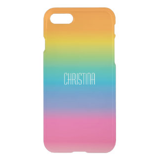 Rainbow Shade Gradient iPhone 8/7 Case
