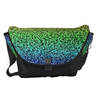 Rainbow Shards Courier Bag