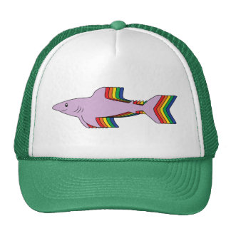 Rainbow Shark Cap