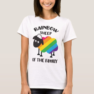 Rainbow Sheep Of The Family LGBT Pride T-Shirt