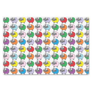 Rainbow Sheep Tissue Paper