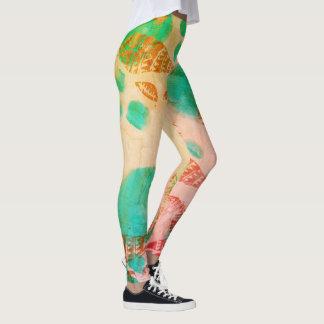 Rainbow Shells Leggings