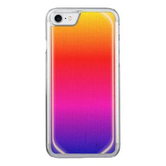 Rainbow Shine Carved iPhone 7 Case