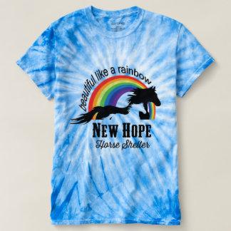 rainbow shirt pink or blue