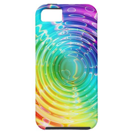 Rainbow Shockwave iPhone 5 Cases