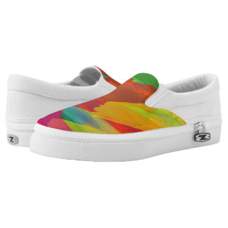 rainbow shoes printed shoes