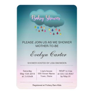 RAINBOW SHOWER CLOUD / BABY SHOWER