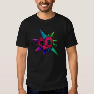 Rainbow Skull Attack Shirts