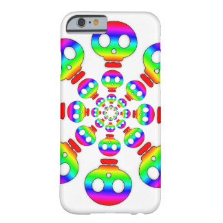 Rainbow Skull Explosion Barely There iPhone 6 Case