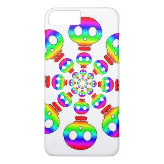Rainbow Skull Explosion iPhone 7 Plus Case