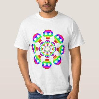 Rainbow Skull Explosion T-shirt