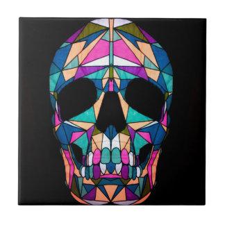 Rainbow skull geboortetegel