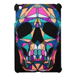 Rainbow skull iPad mini hoesje