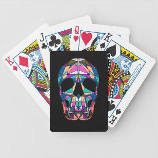Rainbow skull pak speelkaarten
