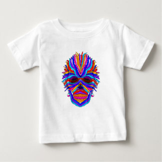 Rainbow Skull Ribbon Tee Shirt
