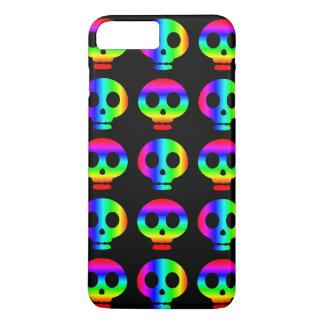 Rainbow Skull Riot iPhone 7 Plus Case