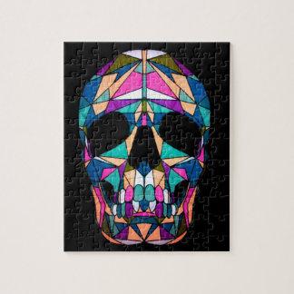 Rainbow skull stukjes puzzel