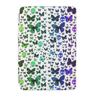 Rainbow Skulls & Butterfly Custom Color iPad Mini Cover