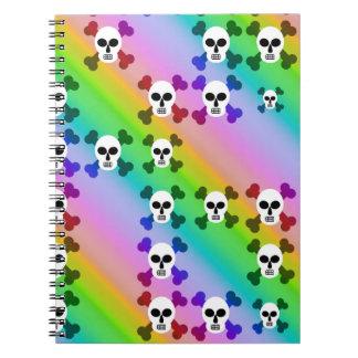 Rainbow Skulls Journal