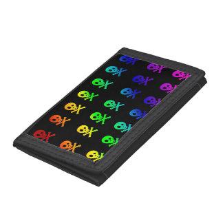 Rainbow Skulls Wallet