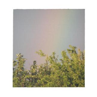 Rainbow Sky Notepad