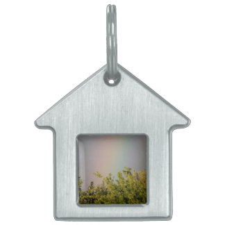 Rainbow Sky Pet Tag