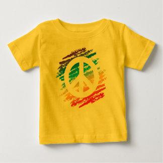 Rainbow Slash Peace Tshirts