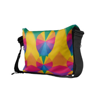 Rainbow slices commuter bags