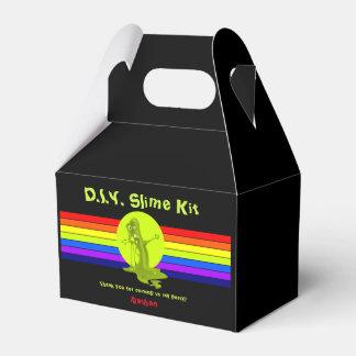 Rainbow Slime Birthday Slime Kit Favor Favour Box