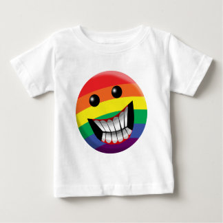 Rainbow Smile Baby T-Shirt