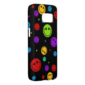 Rainbow Smiley Polka Dots