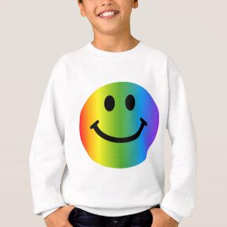 Rainbow Smiley Sweatshirt