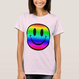 Rainbow Smiley V1 T-Shirt