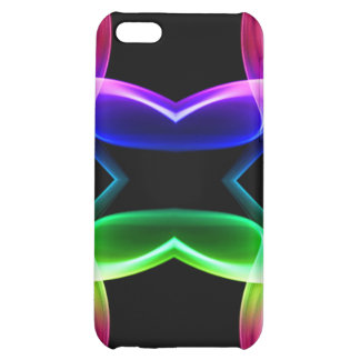 Rainbow smoke butterfly iPhone 5C cases