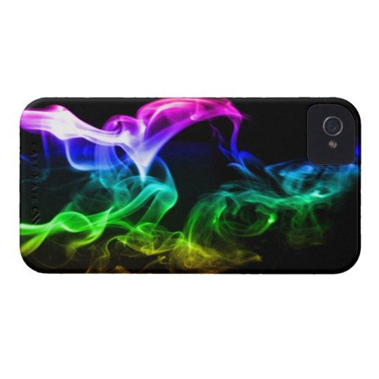 Rainbow Smoke iPhone 4 Case