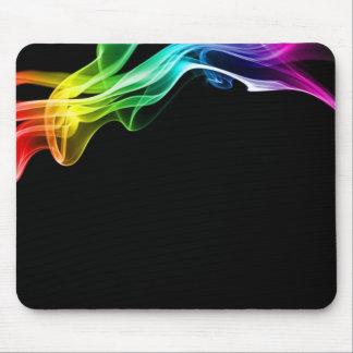 rainbow smoke mouse mat